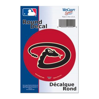 Arizona Diamondbacks MLB Round Vinyl Decal Sticker