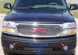 01 06 GMC Yukon Fog Lights Kit Lamps Lamp Denali HID B