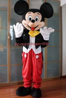 Mickey Mouse Mascot Costume Fancy Dress Adult Size BIG SALE