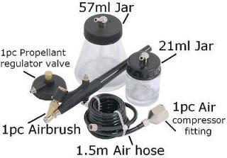Professional Airbrush Air Brush Ki Grea For Aircraf Model Makers