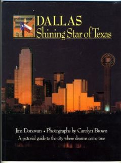 DALLAS Shining Star of Texas Jim Donovan Carolyn Brown signed by both