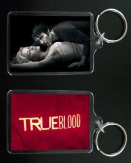 true blood keychain keyring bill and sookie stackhouse 2 time