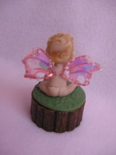 OOAK Bassinet 1 1 4 Baby Girl Art Doll House Polymer Clay Miniature