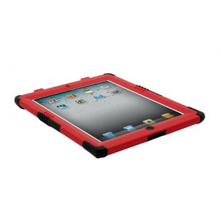 Retail OEM Trident Kraken II 2 Series Hard Case Apple iPad 2 Red