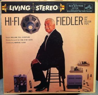 arthur fiedler hi fi label rca records format 33 rpm 12 lp stereo