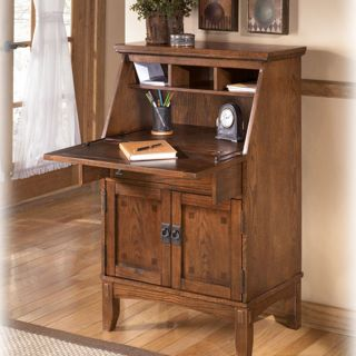 Ashley Cross Island Drop Front Secretary Desk Furniture Free Shipping
