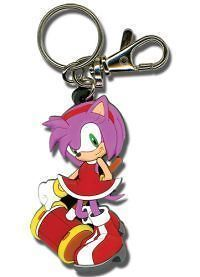 new key chain sonic the hedgehog amy rose sealed time