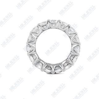 00 Ct Certified Diamond Eternity Wedding Band Ring
