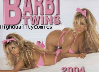 Barbi Twins Calendar 2004 16 Mon Good Girls Bikinis