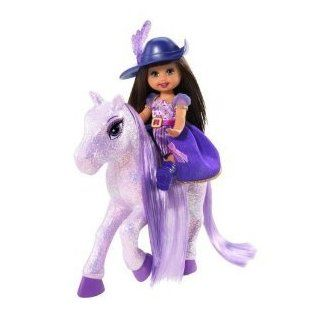 Barbie and The Three Musketeers Mini Kelly Doll Horse