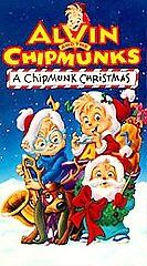 Alvin and the Chipmunks   A Chipmunk Christmas VHS, 1992