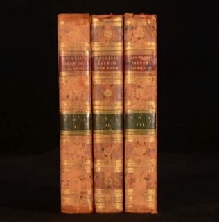 1804 3VOL The Life of Samuel Johnson Studies and Numerous Works James