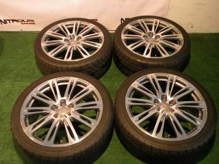 20 Audi A7 S7 Factory Wheels Nitto Tires Package Silver A6 S6 A8 S8