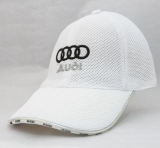 New Audi Black Red White Mesh Cap Hat A4 A5 A6 TT S3 S4 S6 R8 Q5 Q3