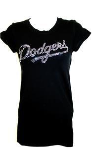 Womens La Dodgers Matt Kemp 27 Bling Jersey Tank Top Tee T Shirt Long