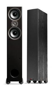 Pair Monitor 50 Series II Black Speakers Polk Audio