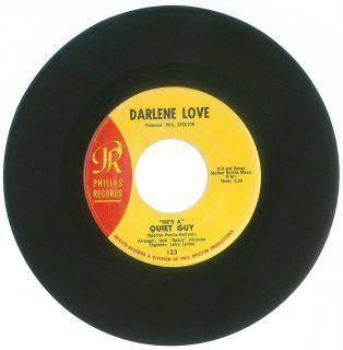 45 RPM LOT Darlene Love Phillies Records 123 DJ Promo Stock Quiet Guy