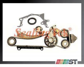 Suzuki J18A J20A J23A Engine Timing Chain Gear Kit New Set w Oil Seal