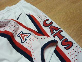 Nike Arizona Wildcat Authentic Game Jersey Shorts NCAA Basketball Home