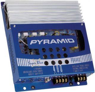 New 2 Channel 400 Watt Car Audio Amplifier Amp PB444X