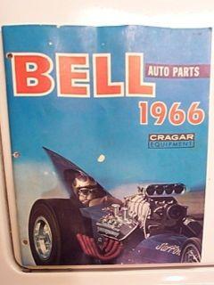 Bell Auto Parts original 1966 blower supercharger catalog scta nhra