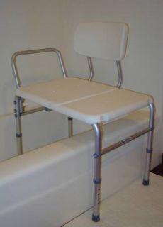Medical Transfer Bath Seat Bench Shower Bathtub Stool Chair Detachable