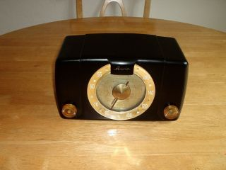 Arvin Radio Model 451 TL Tube Type Deco