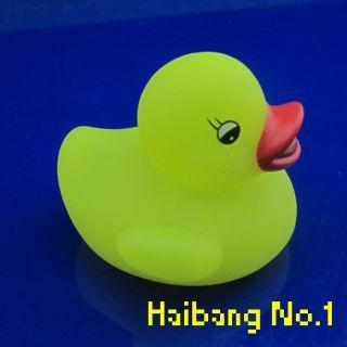 5pcs Baby Bath Fun Duck Toy Rubber MultiColor LED Auto Color Changing