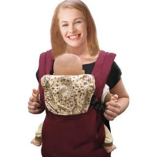 Front Back Baby Safety Carrier Infant Comfort Backpack Sling Wrap