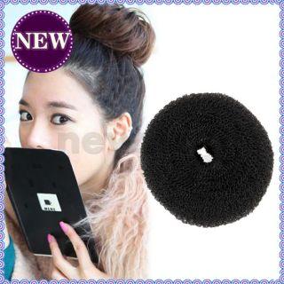 Donut Shape Hair Styler Lady Hair Styling Soft Magic Tool