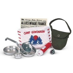 American Girl Molly Camp Equipment Complete Mollys Camp Supplies