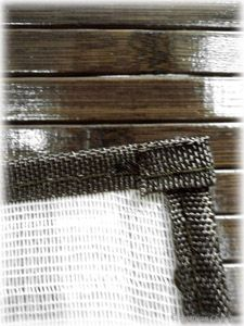 72 Chocolate Brown Slat Bamboo 6ft Kitchen Dining Table Runner