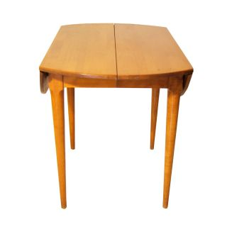 Wright Conant Ball Birch Drop Leaf Dining Table Price REDUCED