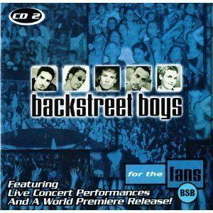 CD Backstreet Boys for The Fans Live Disk 2