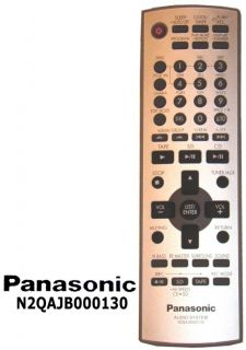 New Panasonic Audio Remote N2QAJB000130 SC PM71 SD