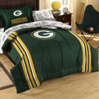 New NFL Green Bay Packers Twin Bedding Set