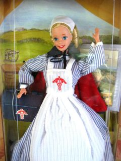 Civil War Nurse Barbie Doll American Stories Collection MIB NRFB 1995