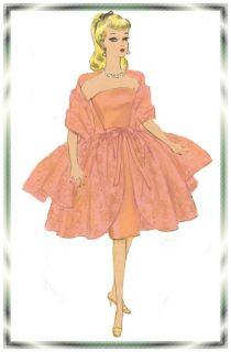 4422 Vintage Barbie Doll Wardrobe Patterns 11 1 2