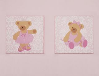 Kidsline Twirling Around Musical Mobile Girls Teddy Bear Ballerina