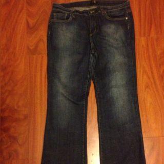 BCBG Paris Womens Boot Cut Jeans Blue Size 10