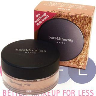 Bare Escentuals Minerals Matte Foundation 2c Medium 6g