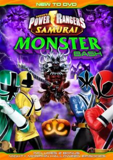 Power Rangers Samurai Monster Bash New SEALED DVD 031398155751