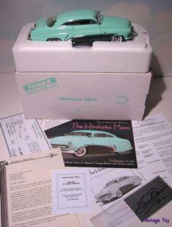 Mint HIROHATA MERC   George Barris Custom 1951 Mercury 124 diecast