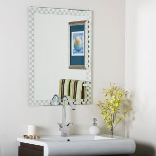 Frameless Bathroom Wall Mirror Hall Designer Checkmate