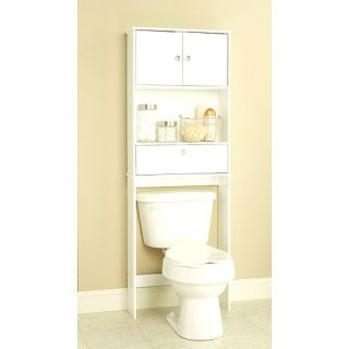 Spacesaver Bath Room Bathroom Cabinet Drop Door Towel Toilet Storage