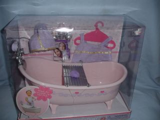 Our Generation Bathtub Accessories Fits 18 Dolls Battat American Girl