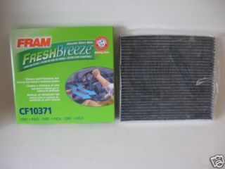 Cadillac CTS STS SRX Fram Fresh Breeze CF10371 cabin air filter