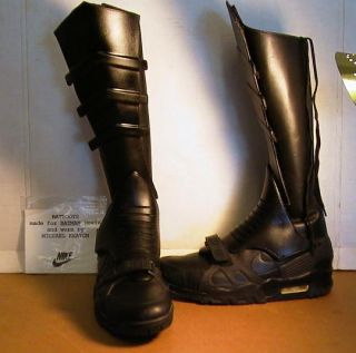 Batman 1989 Michael Keaton Boot Armor Boots Shoes Latex 89 Armor Prop