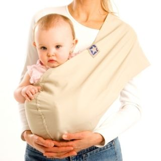 Little Star Baby Sling 100 Organic Cotton Color Sand Sz x Large