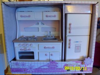 Our Generation Kitchen Play Set American Doll or Battat Too
